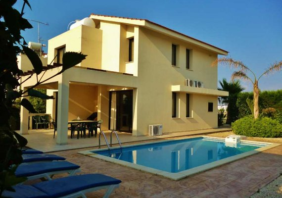 3 Bedrooms Villa in Dekeleia Tourist, Larnaca